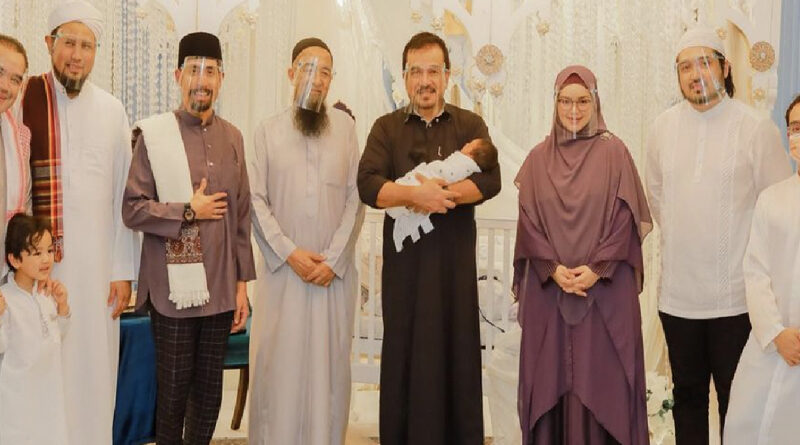 Langgar SOP : Netizen Mohon Siasat Dan Saman Majlis Tahnik Anak Siti Nurhaliza